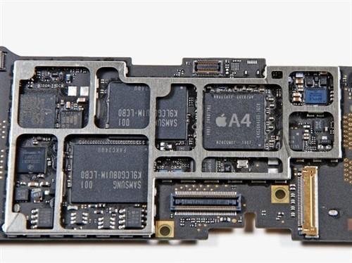 苹果平板电脑 苹果the new ipad 评测行情  存储芯片以及电源管理模块